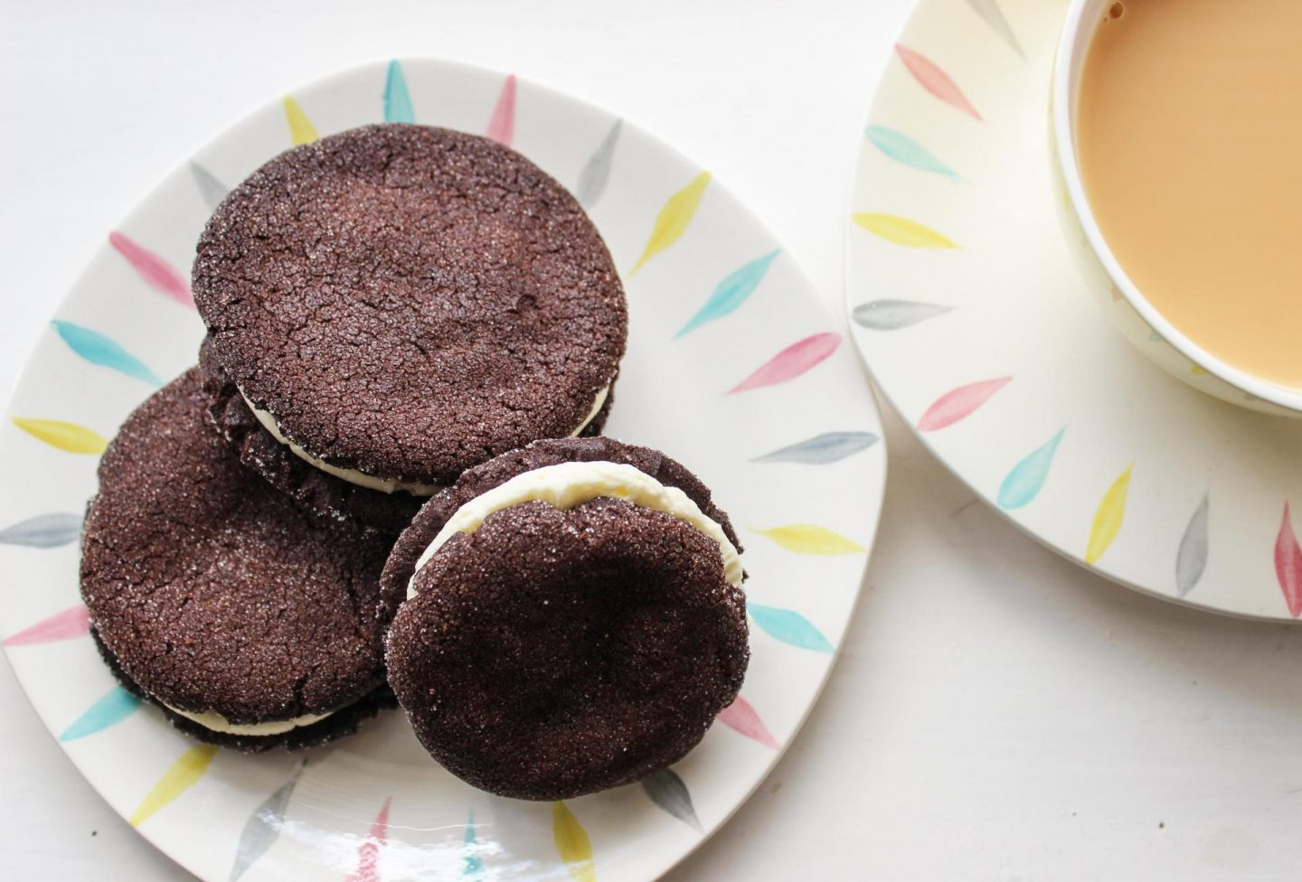 Recipe | Vanilla-filled Chocolate Cookies