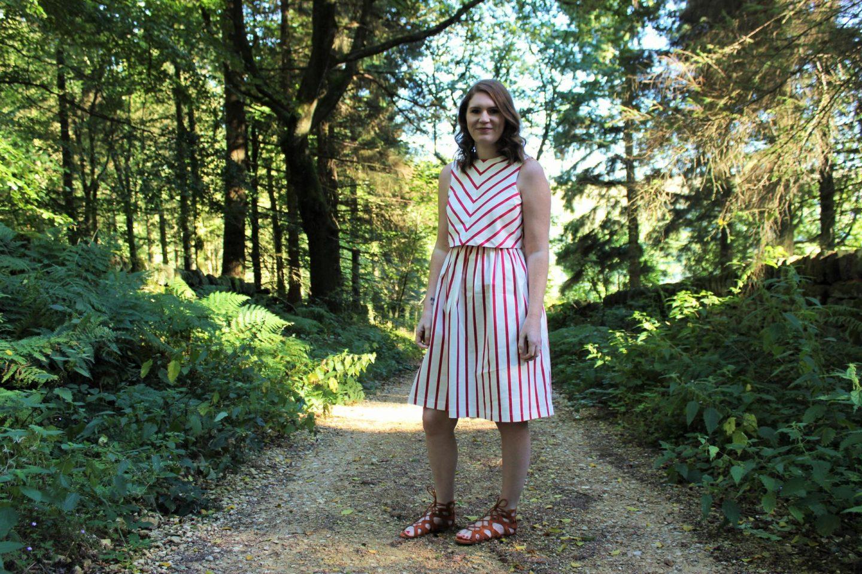 What I Wore | The Red Stripe Dress - Emma Plus Three