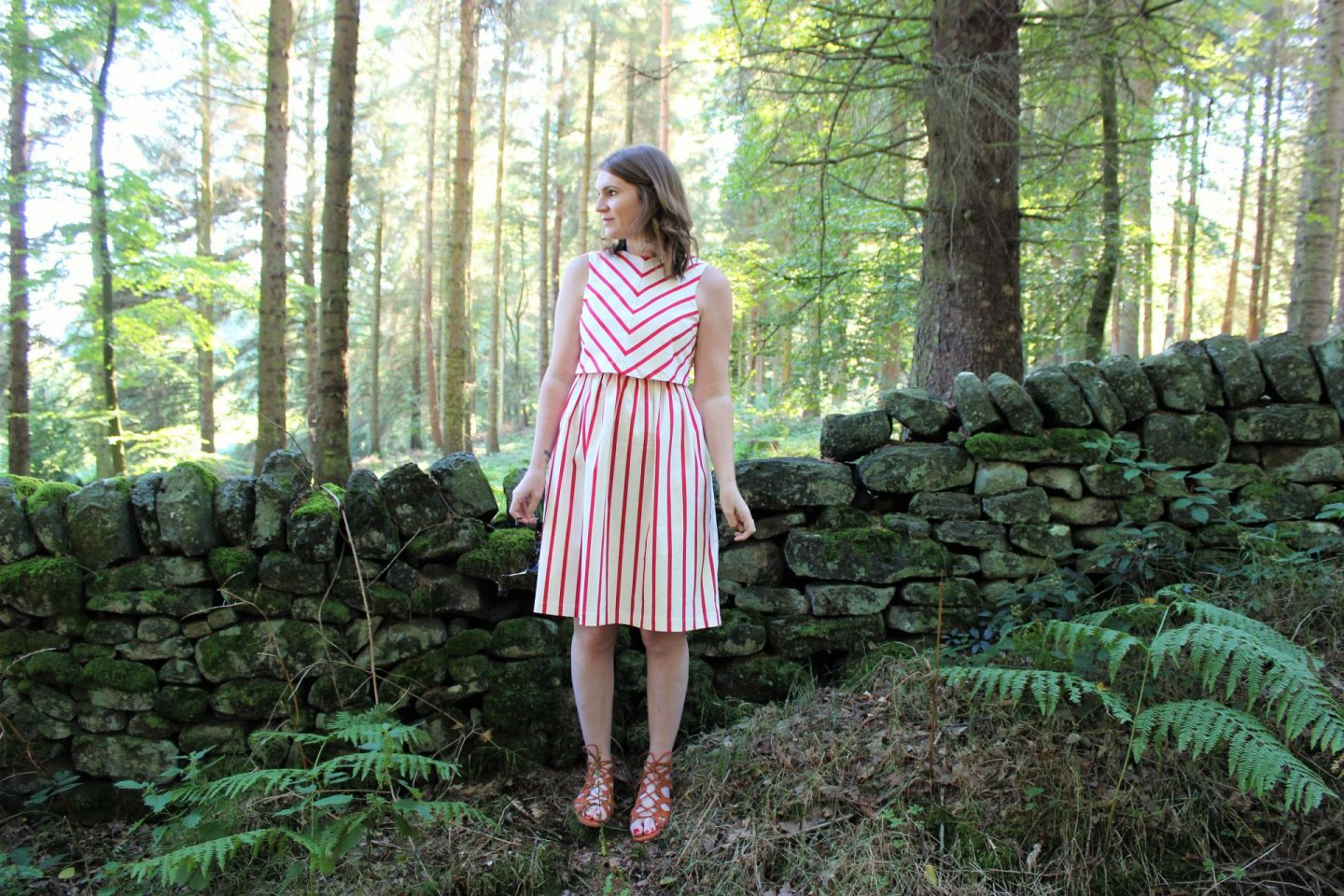 What I Wore | The Red Stripe Dress