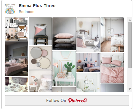 Bedroom Inspiration White Grey Blush Emma Plus Three