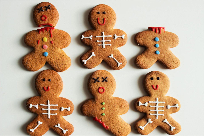 Spooky Halloween Gingerbread Men