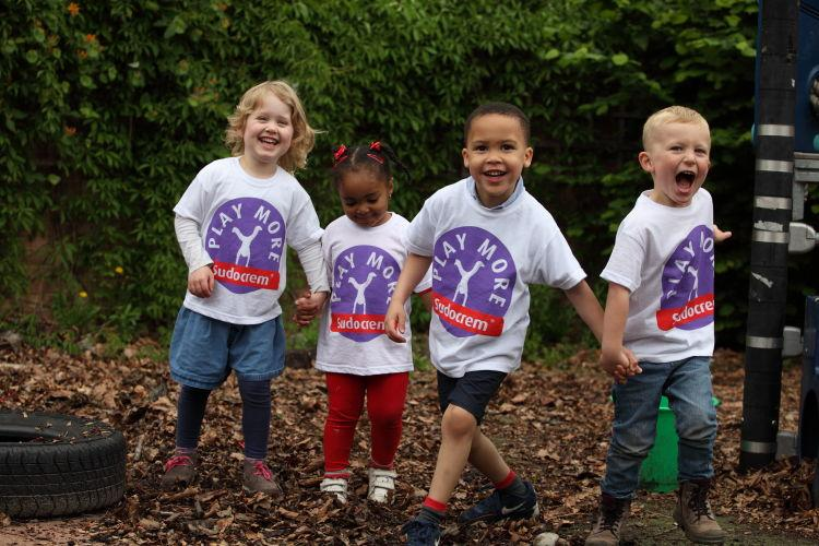 Sheffield Nursery Wins Sudocrem Play More Award