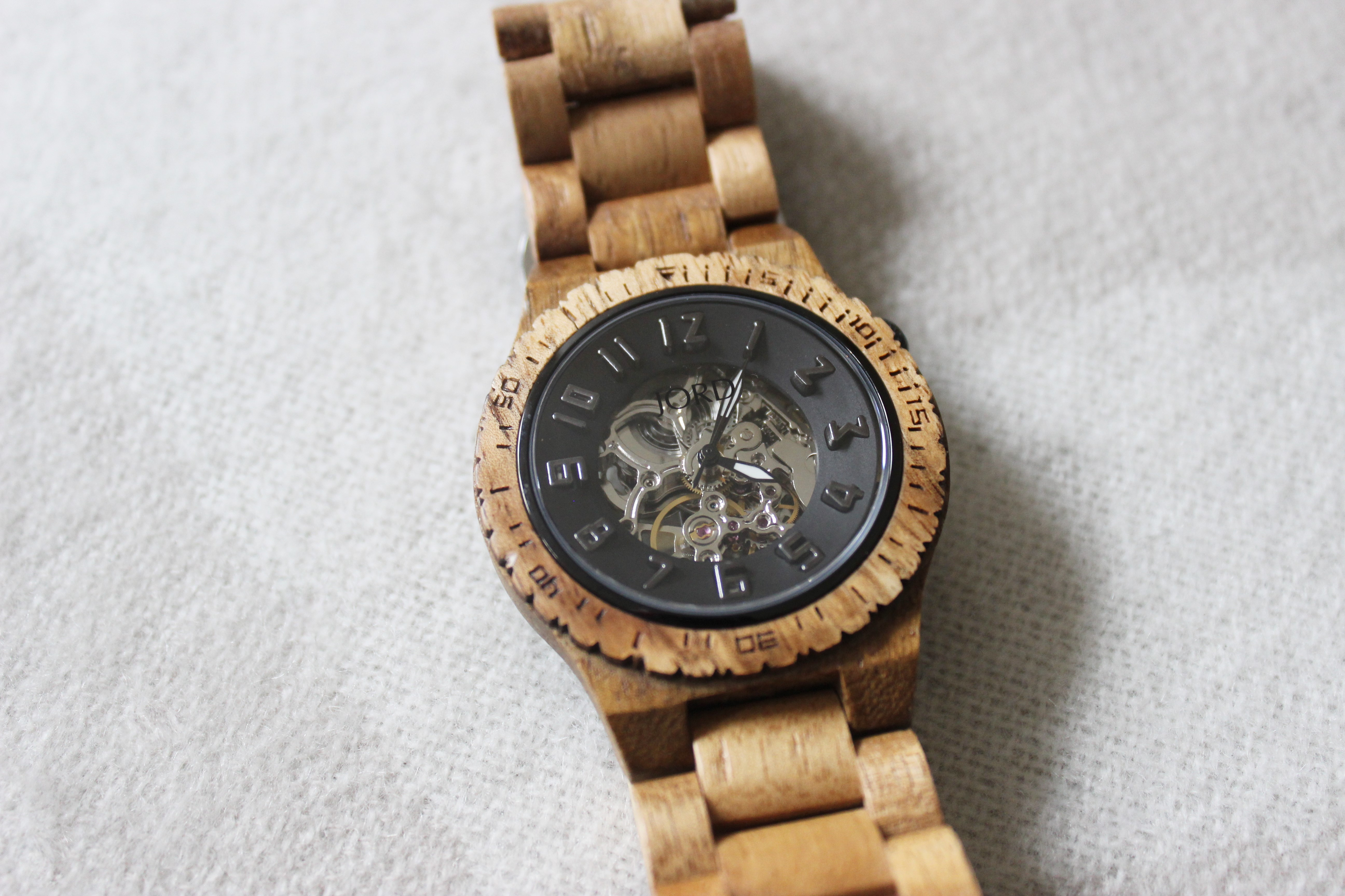 jord wood watches review giveaway