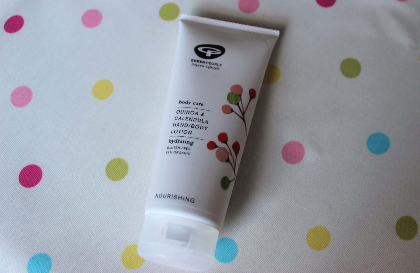 Green People Quinoa & Calendula Hand/Body Lotion | Review & Giveaway