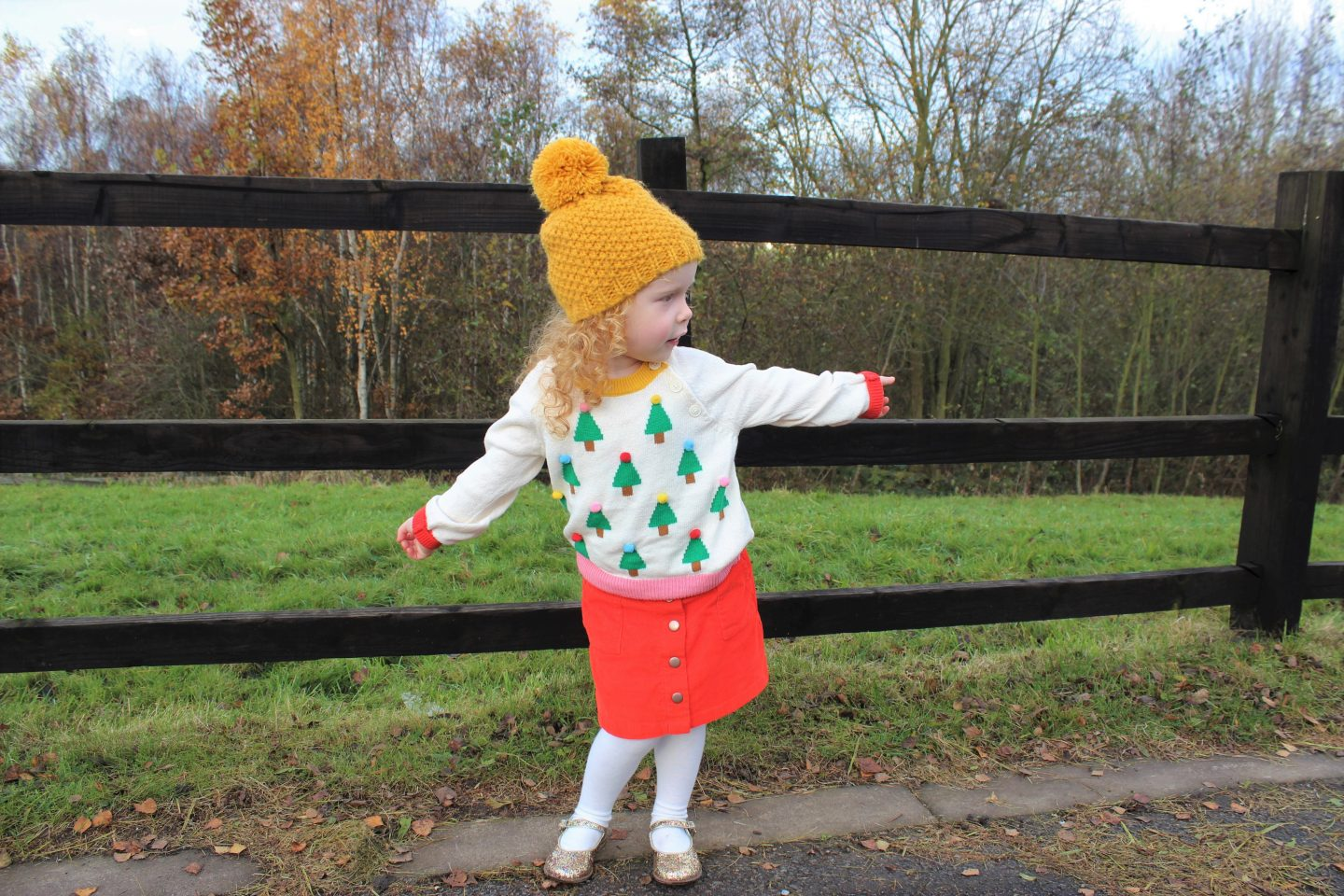 What Evie Wore | Boden Christmas Outfit