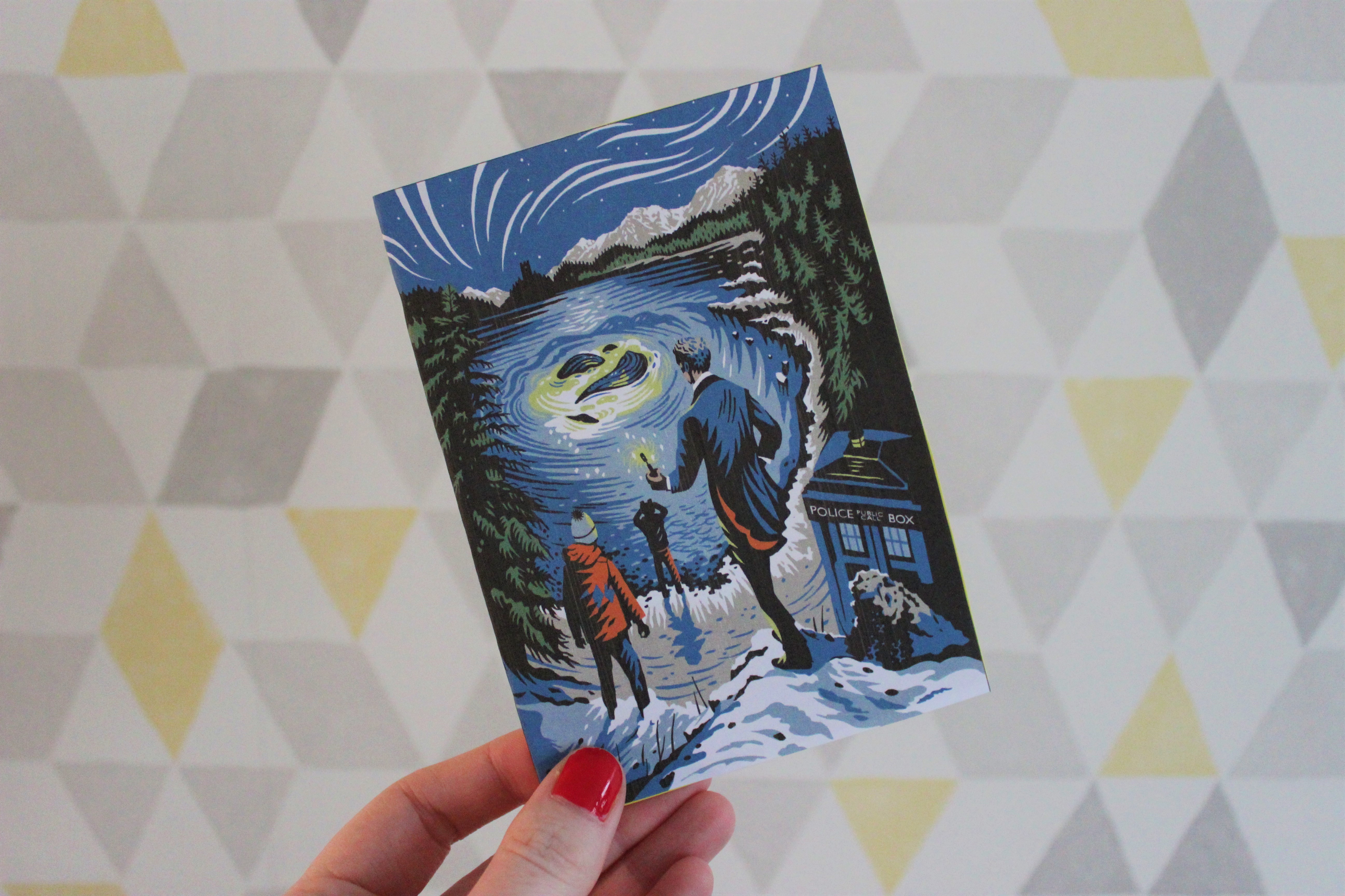 Doctor Who Christmas Cards.Making Doctor Who Christmas Cards For Our Favourite Whovians