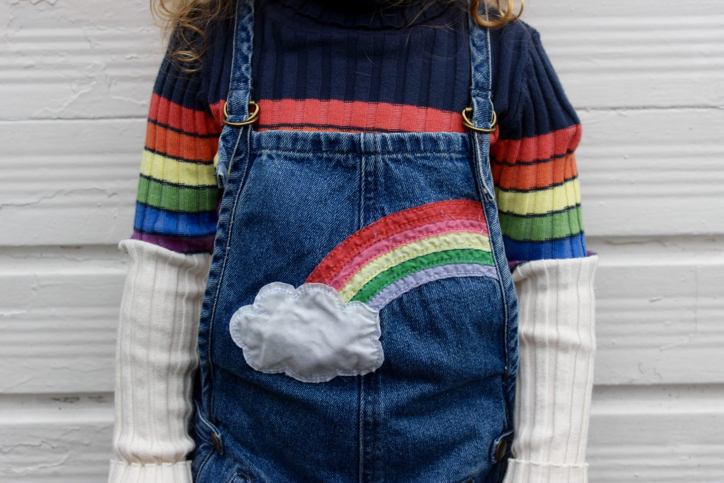 What Evie Wore | Chasing Rainbows in Next SS17
