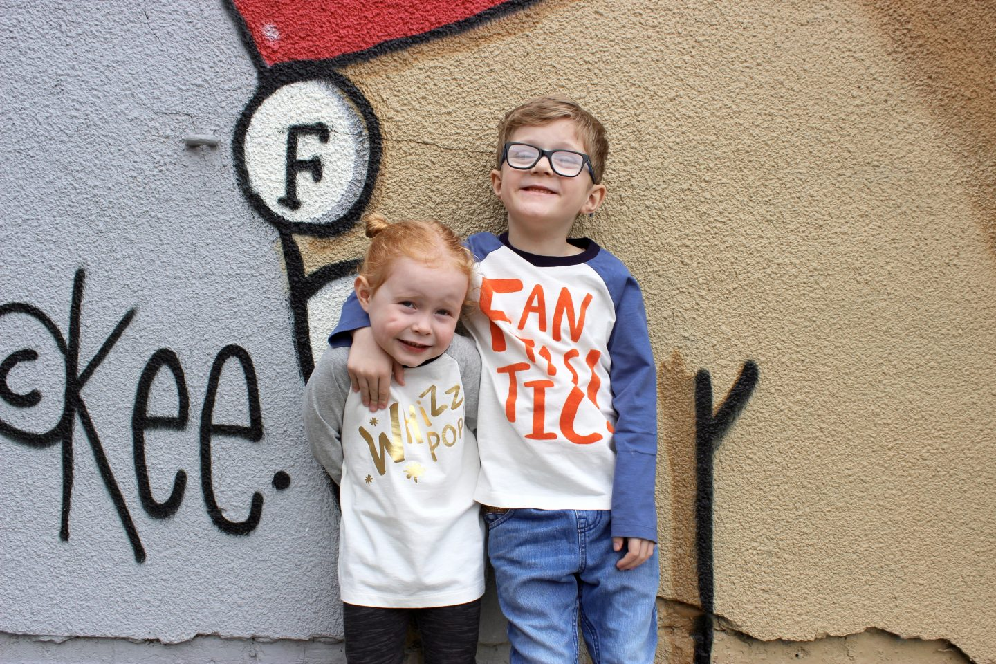 What the Kids Wore | Twinning in Boden Roald Dahl
