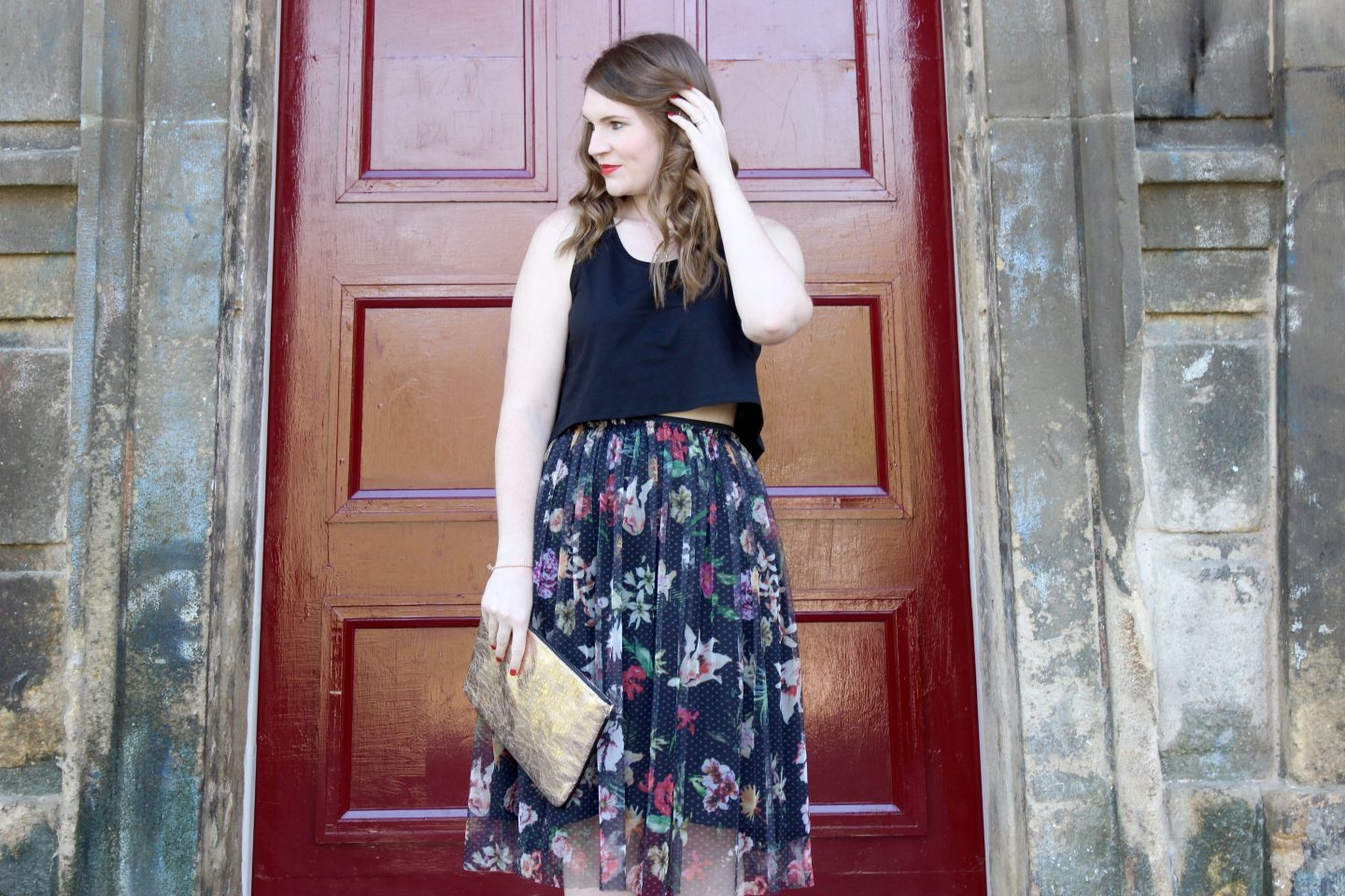 What I Wore | Spring Florals and Rose Gold