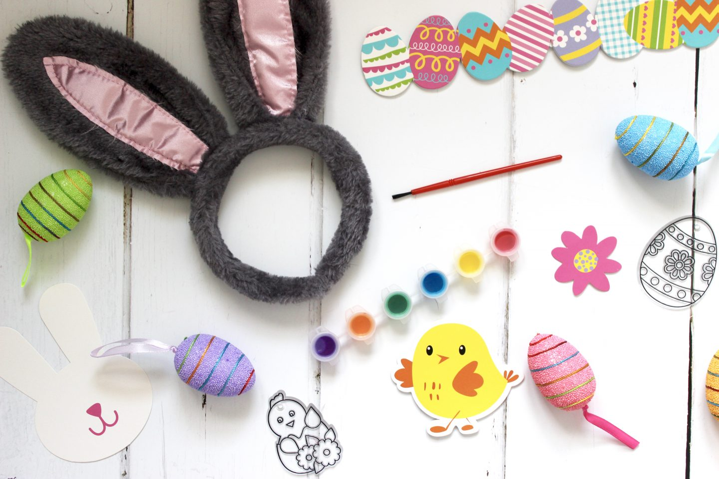 Easter Crafting with Poundland