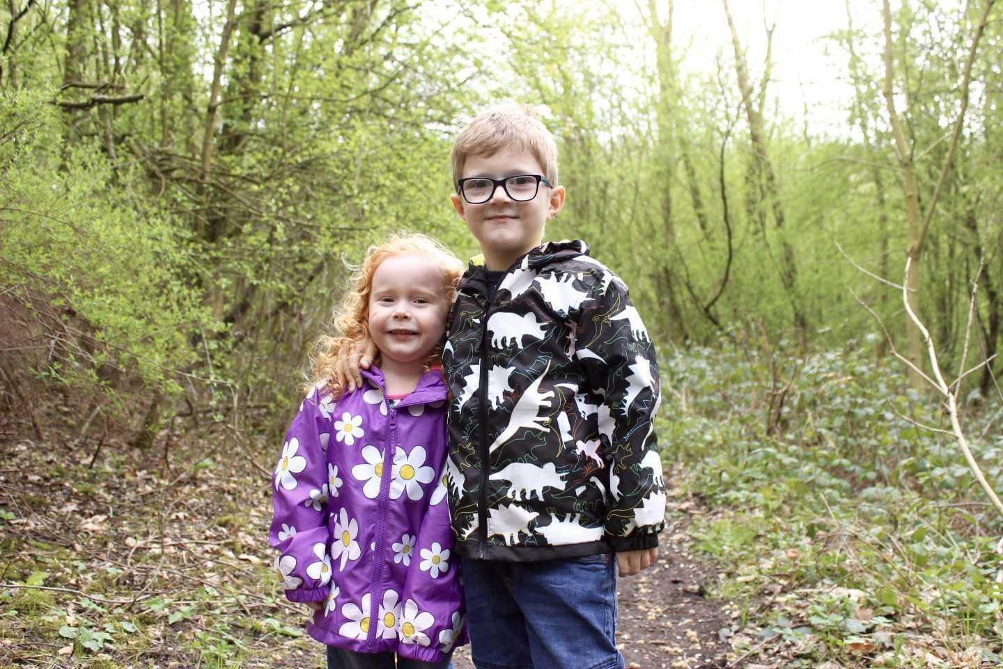 What the Kids Wore | Holly & Beau Colour Changing Raincoats