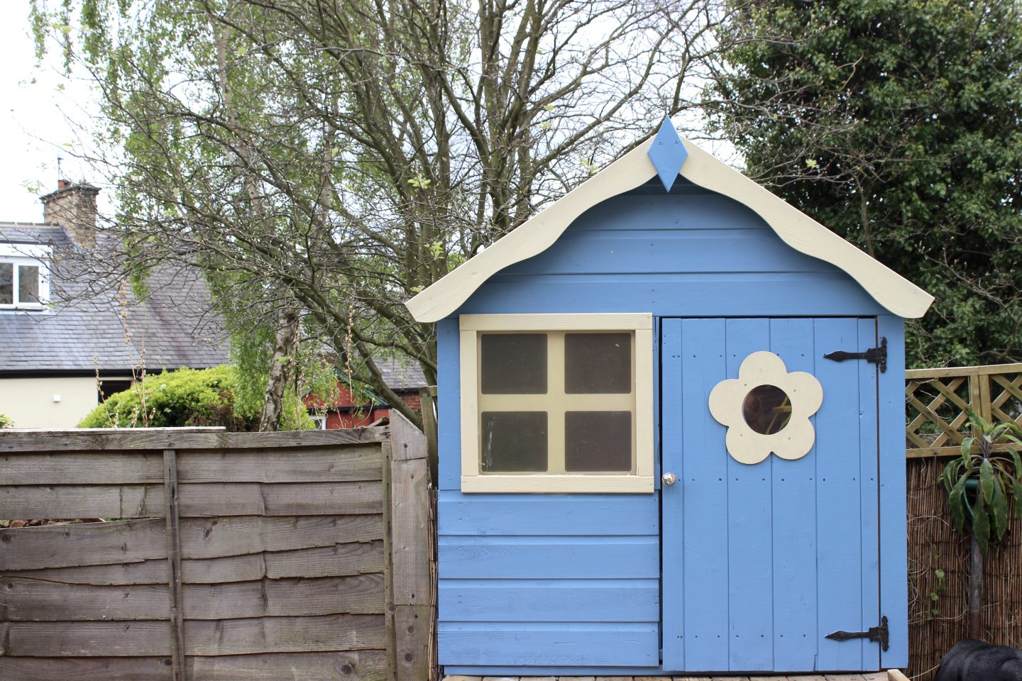 Revamping the Kids Playhouse