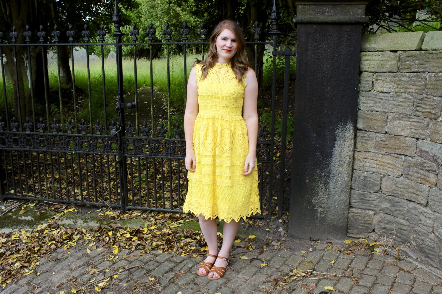 What I Wore | The Yellow Dress