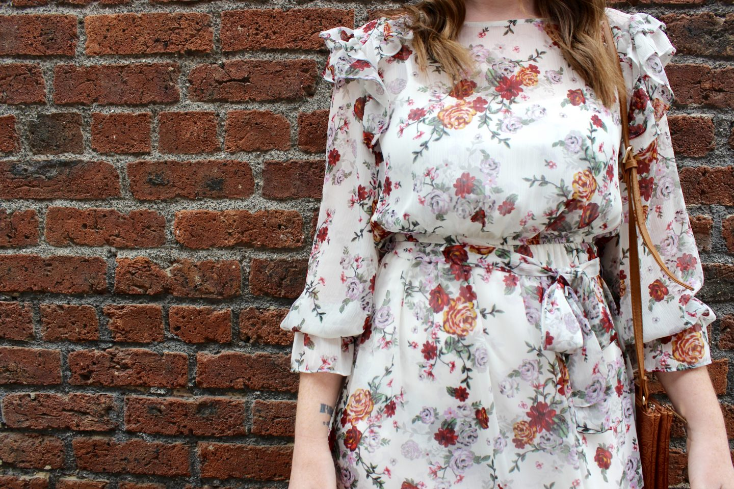 What I Wore | The Floral Dress Day to Night