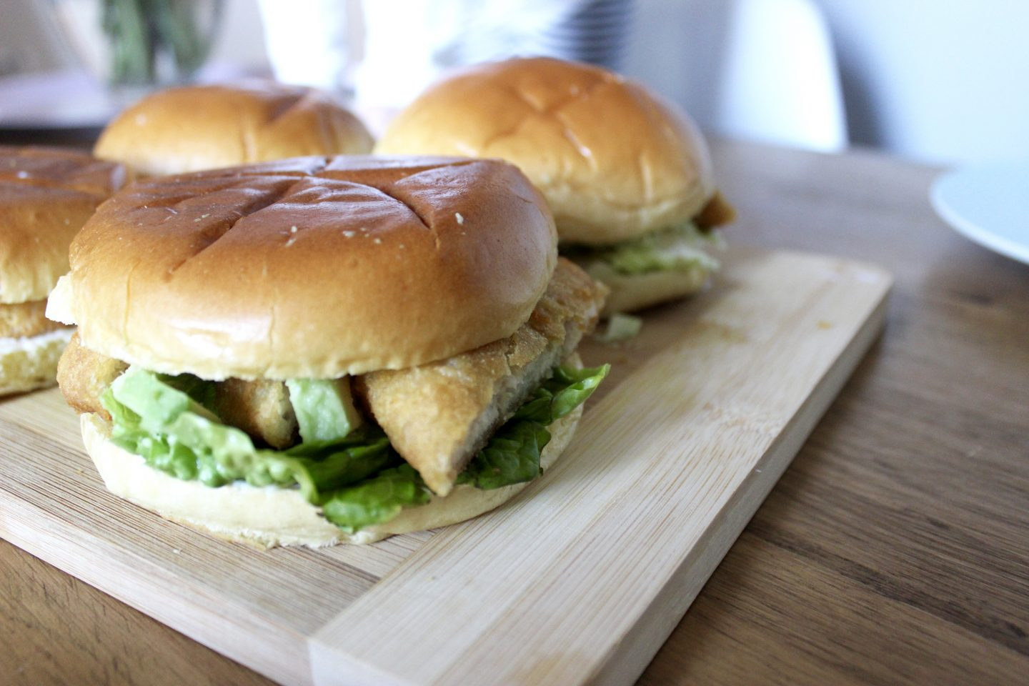 Quick and Easy Chicken Burgers with Birds Eye