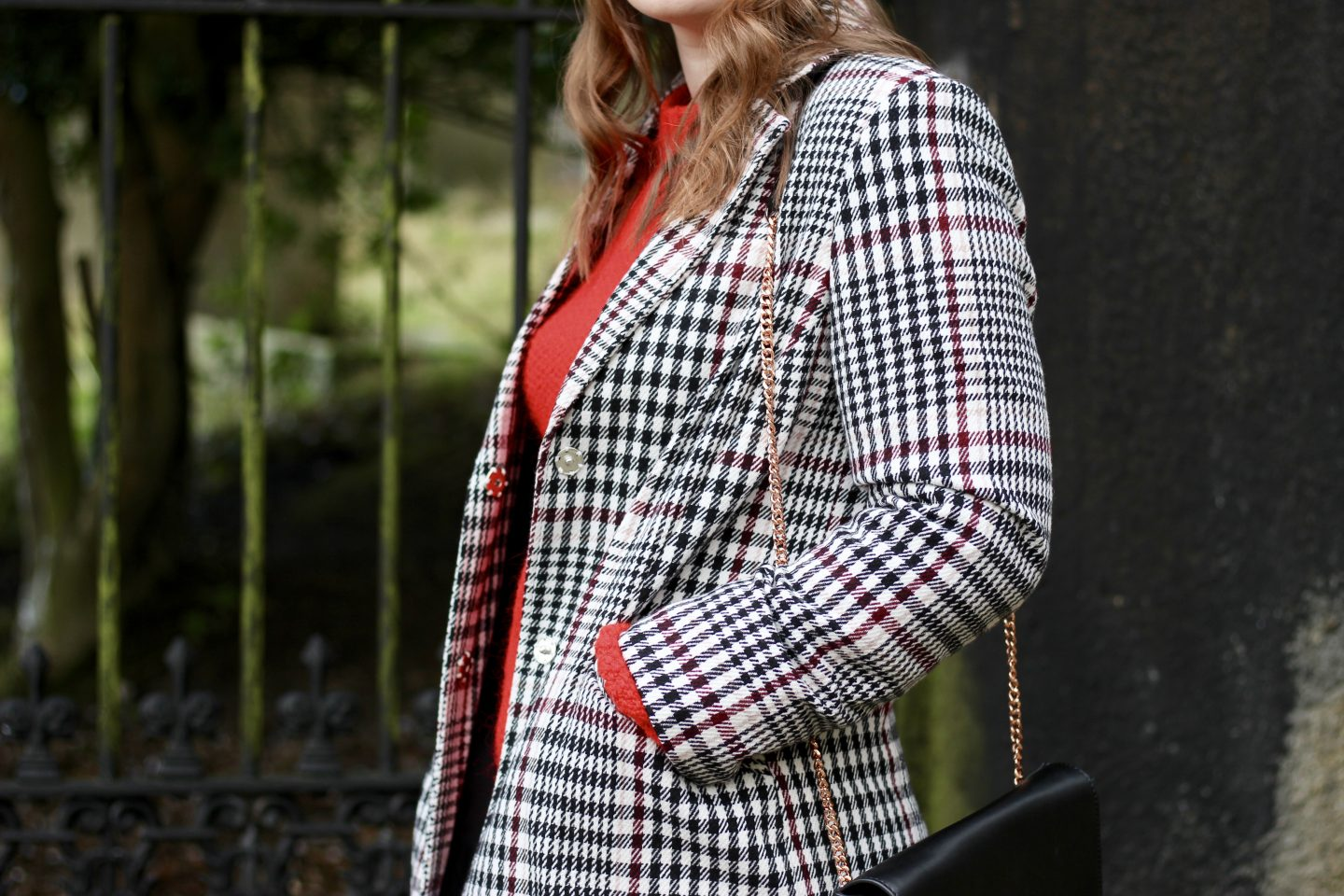 What I Wore | The Checked Coat Trend