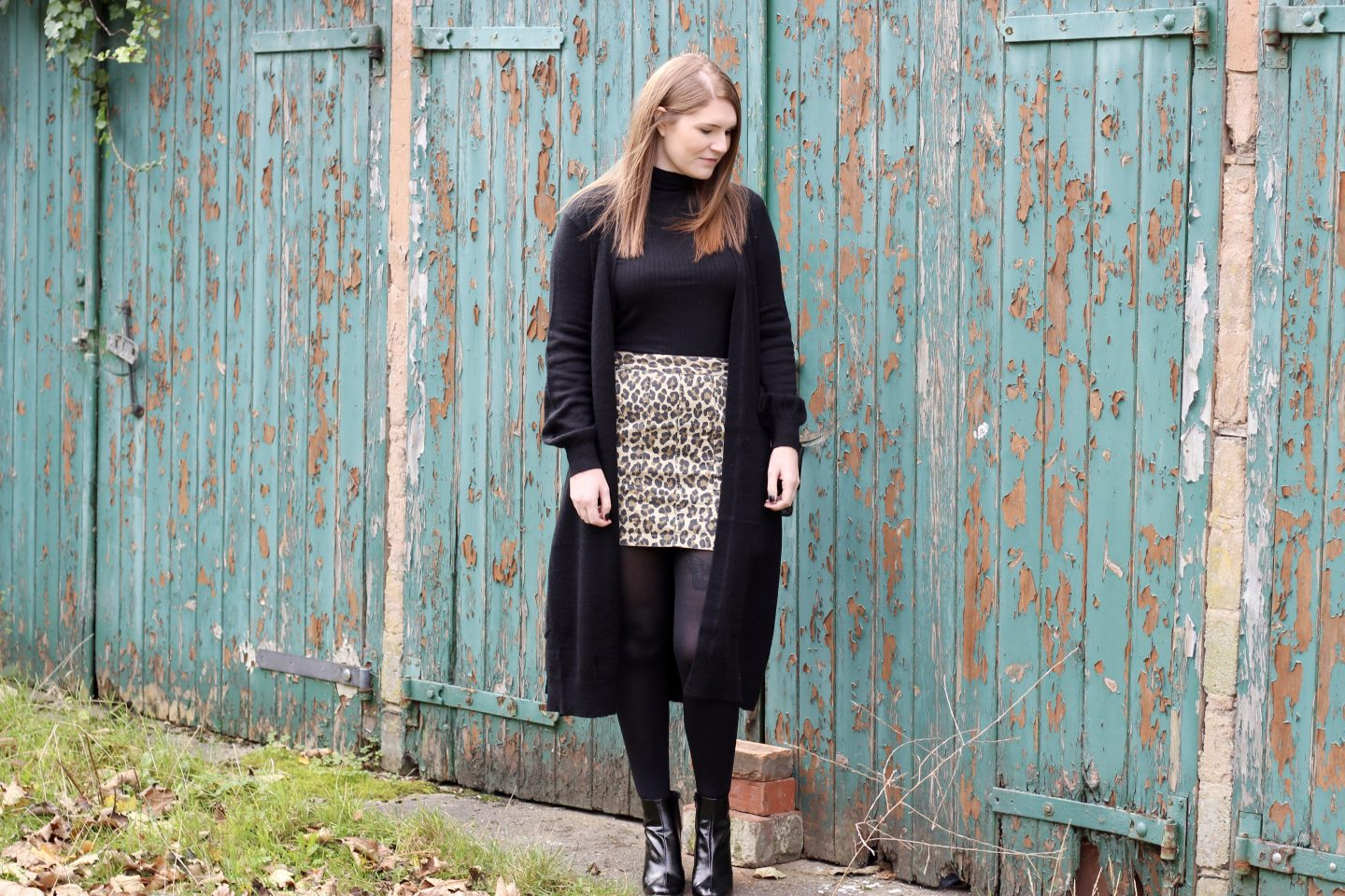 What I Wore | The Leopard Print Skirt Two Ways