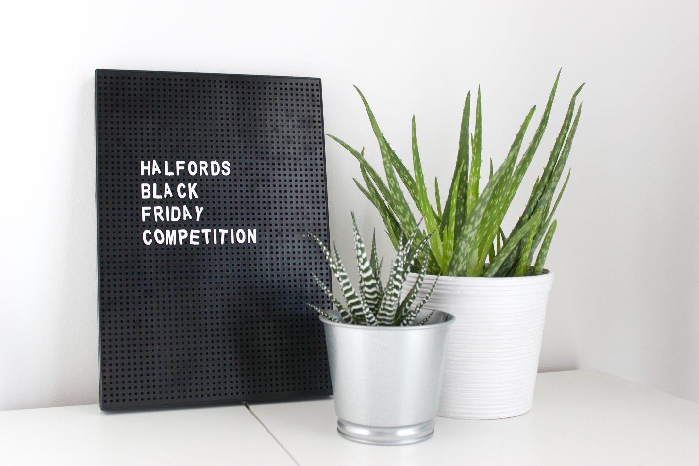Halfords Big Black Friday Competition Emma Plus Three