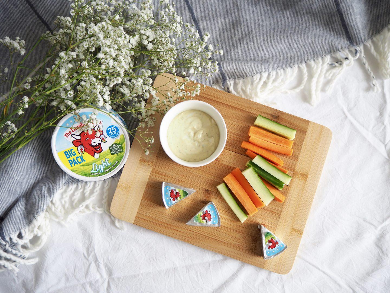 cheesy pesto dip