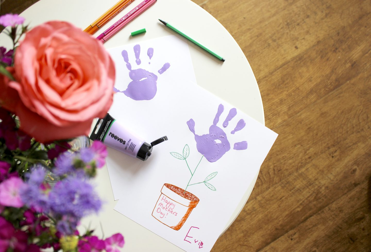 THREE EASY MOTHER'S DAY CRAFTS FOR KIDS