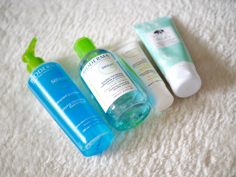 skincare routine acne